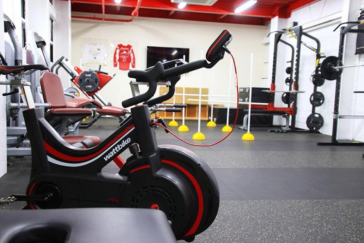 専用トレーニング施設